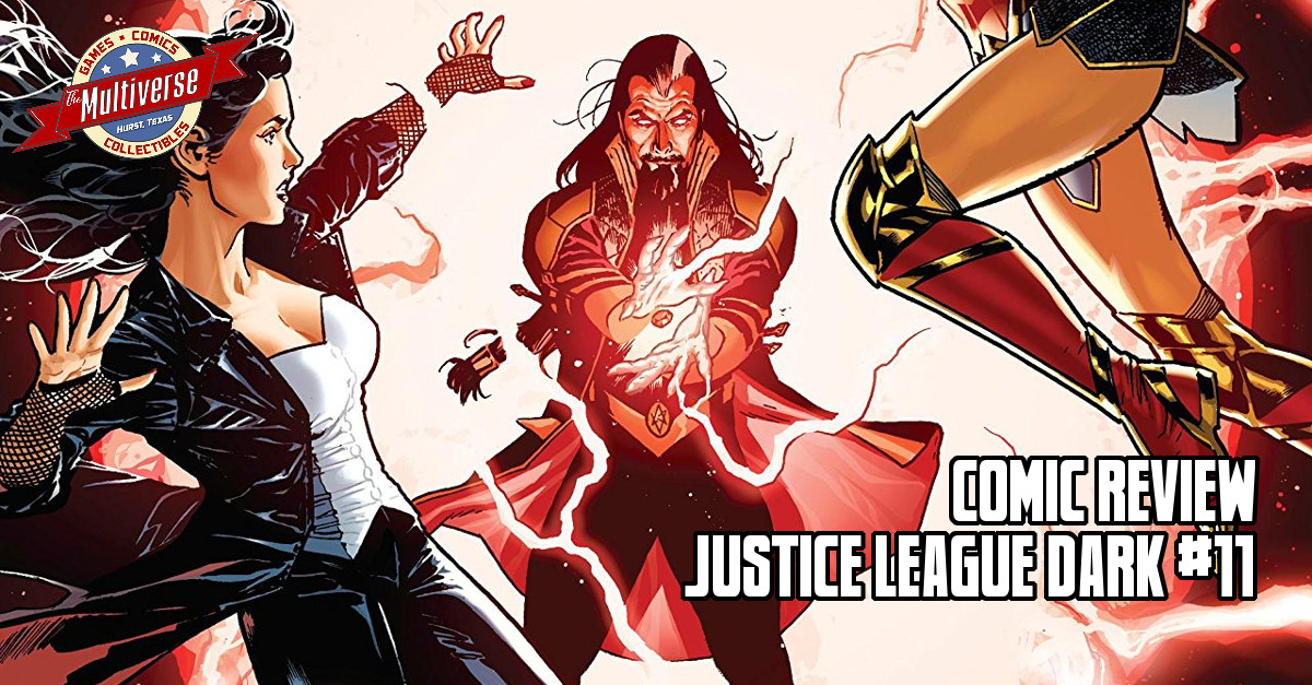 Comic Review - Justice League Dark #11
