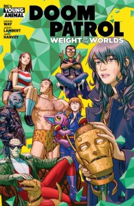 Doom Patrol Weight Of The Worlds #1 Cover