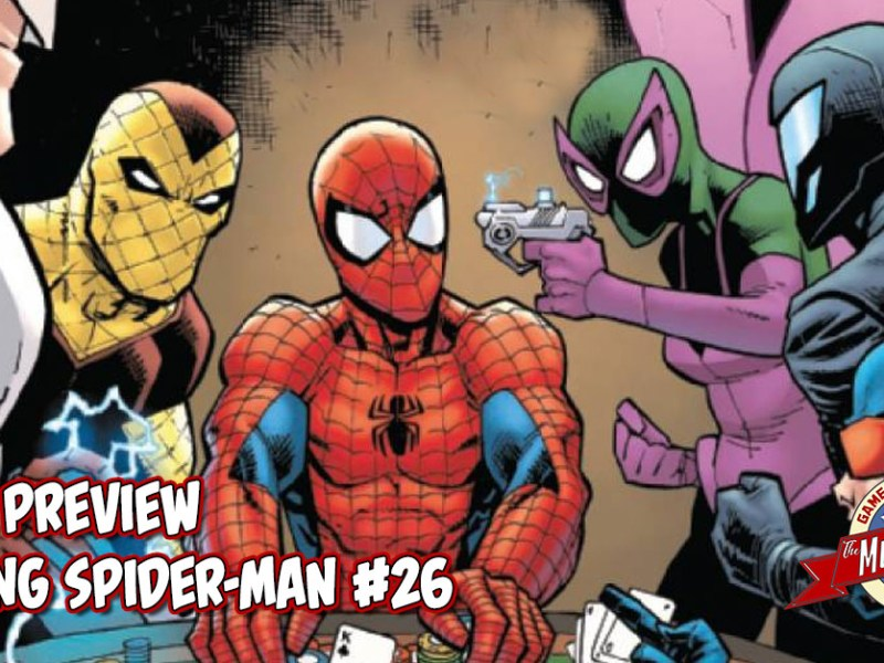 COMIC PREVIEW – AMAZING SPIDER-MAN #26