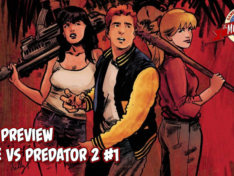 COMIC PREVIEW – ARCHIE VS PREDATOR 2 #1