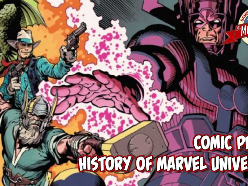 COMIC PREVIEW – HISTORY OF THE MARVEL UNIVERSE #1