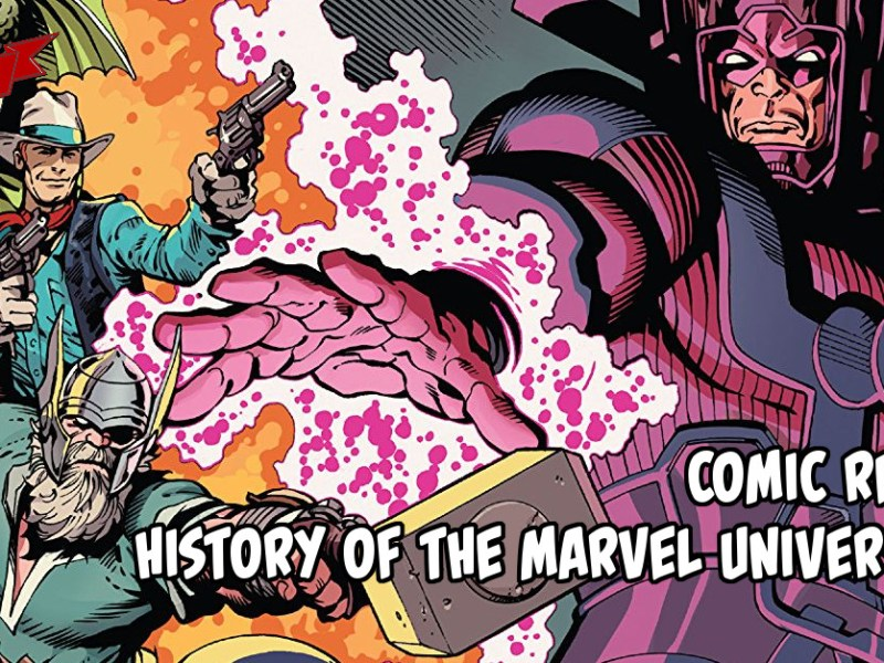 Comic Review – History Of The Marvel Universe #1
