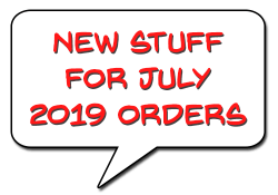 JULY 2019 Items