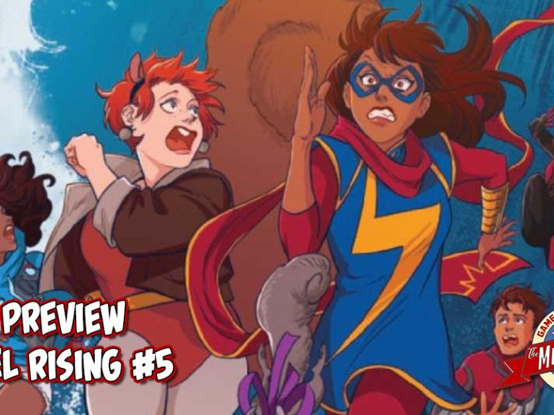 COMIC PREVIEW – MARVEL RISING #5