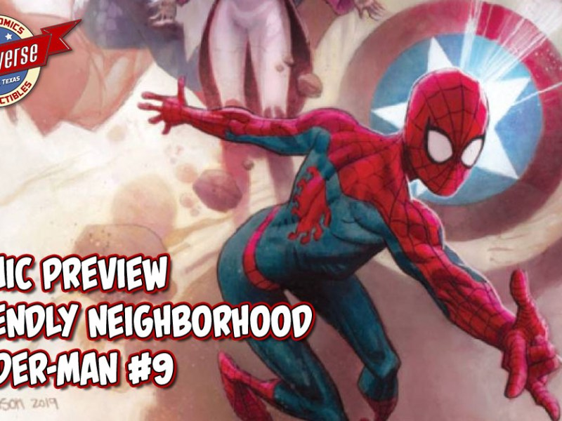 COMIC PREVIEW – FRIENDLY NEIGHBORHOOD SPIDER-MAN #9
