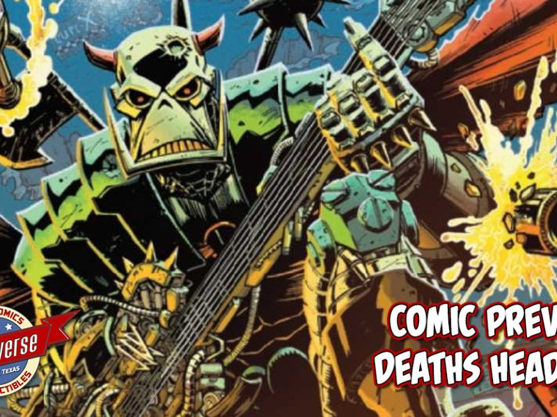 COMIC PREVIEW – DEATHS HEAD #1