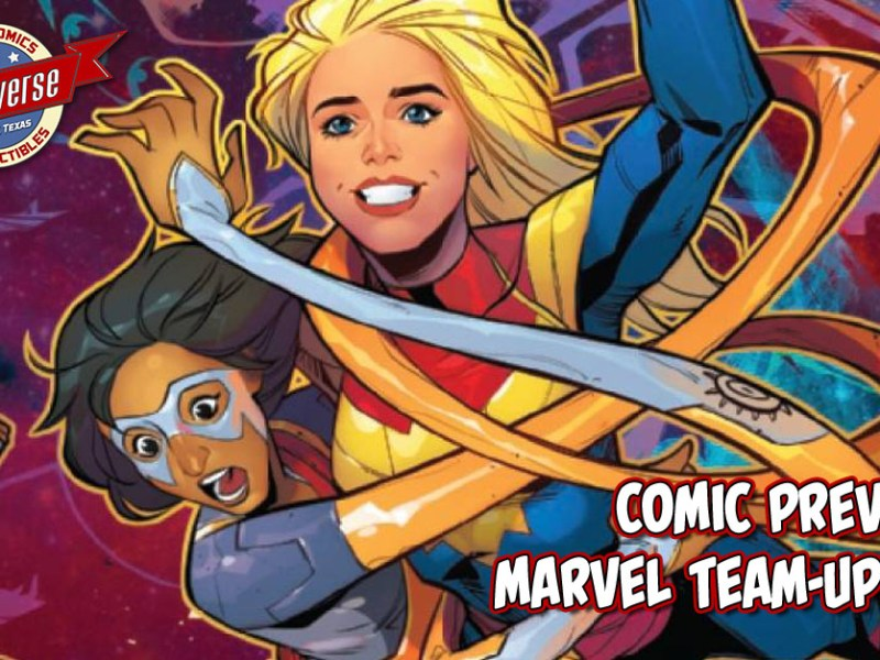 COMIC PREVIEW – MARVEL TEAM-UP #4