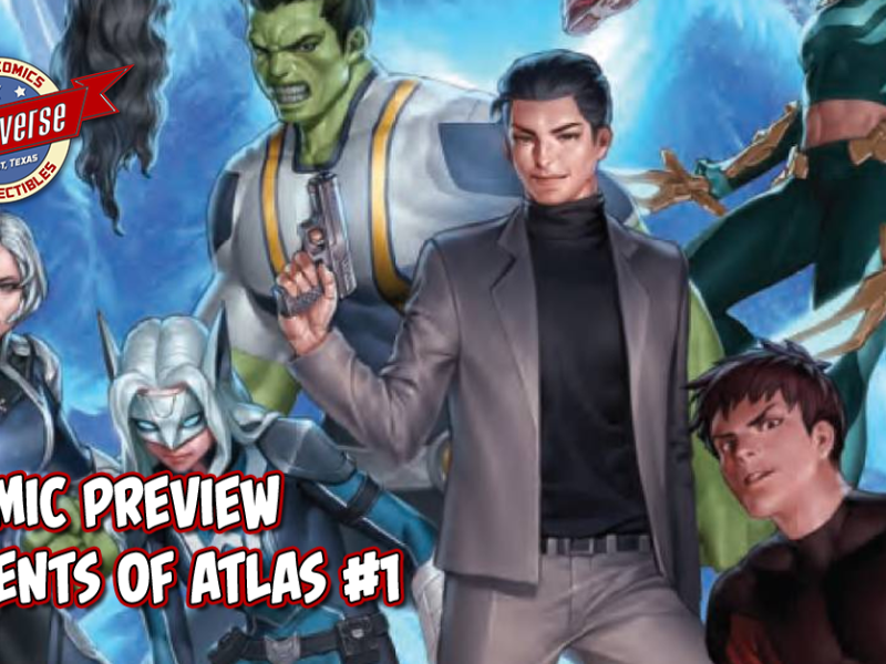 COMIC PREVIEW – AGENTS OF ATLAS #1