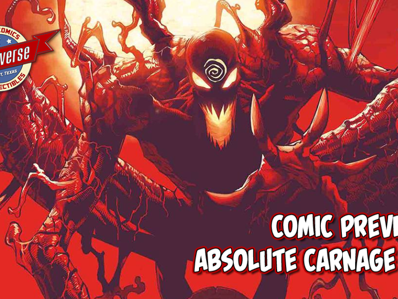 COMIC PREVIEW – ABSOLUTE CARNAGE #1