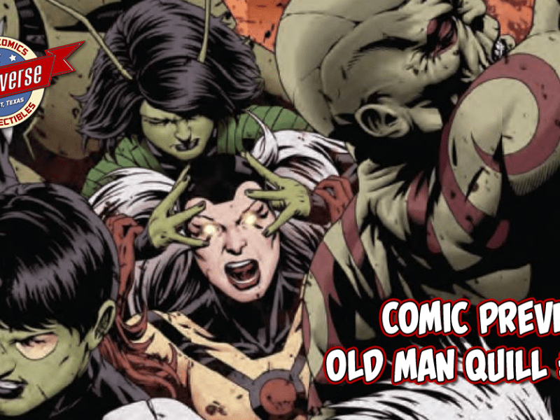 COMIC PREVIEW – OLD MAN QUILL #8