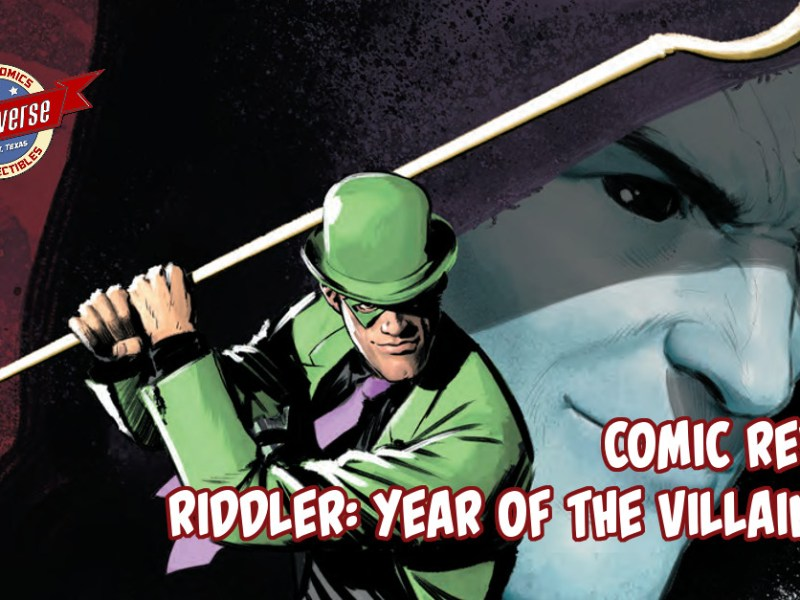 Comic Review – Riddler – Year Of The Villain #1
