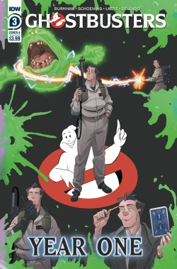 GHOSTBUSTERS YEAR ONE #3 (OF 4) CVR A SHOENING (C: 1-0-0) (JAN200778)