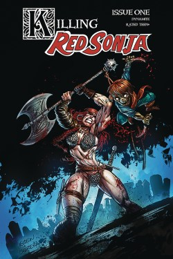 KILLING RED SONJA #1 CVR B GEDEON ZOMBIE (JAN201090)