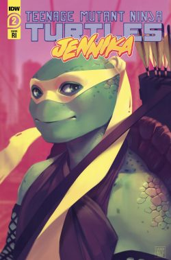 TMNT JENNIKA #2 (OF 3) 10 COPY INCV WALSH (NET) (C: 1-0-0) 1:10 VARIANT (JAN200716)