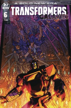 TRANSFORMERS GALAXIES #6 CVR A MILNE (C: 1-0-0) (DEC190653)