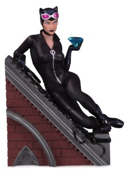 BATMAN ROGUES GALLERY MULTI PART STATUE CATWOMAN (JUN190624)