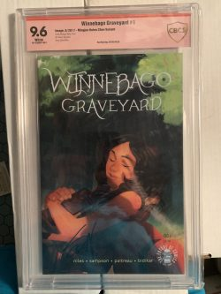 Winnebago Graveyard #1 Chen Variant CBCS Graded 9.6 Signed by Steve Niles