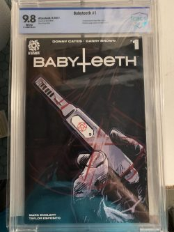 Baby Teeth #1 CBCS Graded 9.8