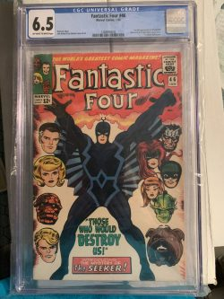 Fantastic 4 #46 CGC Graded 6.5