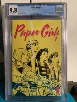 Paper Girls #1 CGC Graded 9.8