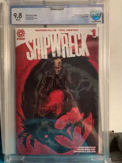 Shipwreck #1 CBCS Graded 9.8