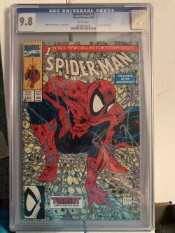 Spiderman #1 CGC Graded 9.8