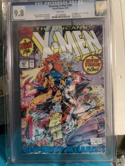 Uncanny X-men #281 CGC Graded 9.8