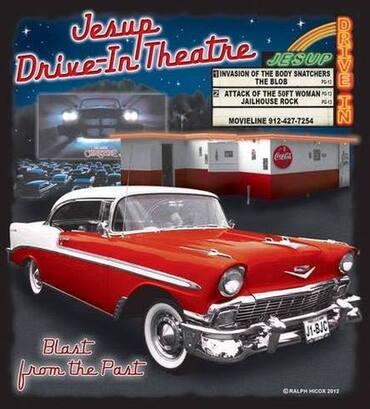 Jesup Drive-In Theatre located in Jesup Georgia
