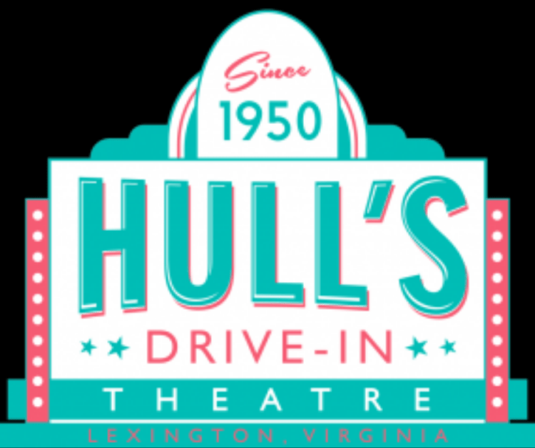 Hull's Drive-In Movie Theatre sign
