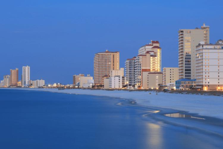 Gulf Shores Alabama a popular southeastern beach
