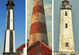 9 Virginia Lighthouses