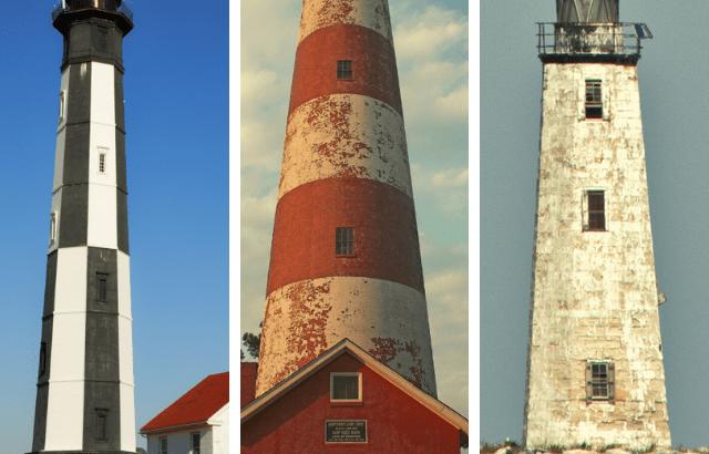 9 Virginia Lighthouses