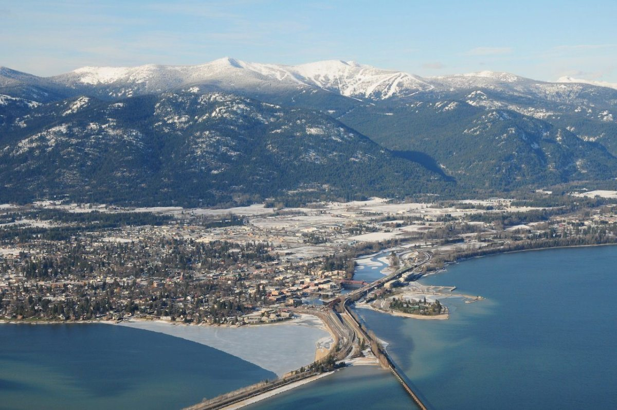 Sandpoint North Idaho, USA