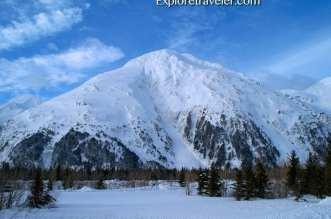 Alaskan Snow Capped Mountains