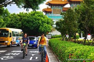 Bicycle Trekking in Taipei...What a fun day