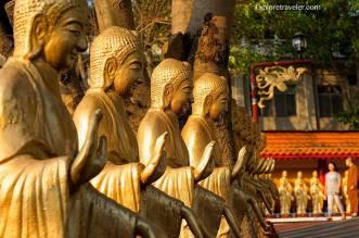 Fo Guang Shan Monastery at Xingtian Village in Taiwan