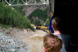 Breathtaking adventure on the Alaska Railroad