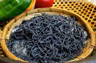 Bamboo Charcoal Noodles