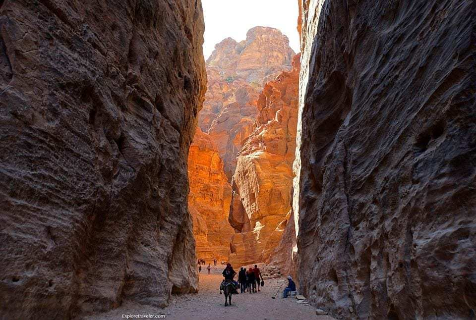 Travel back in time to Petra
