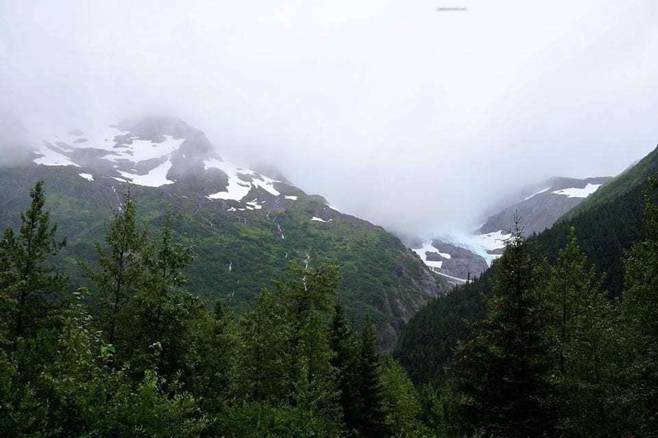 Portage Glacier Valley - Alaska Marine Highway