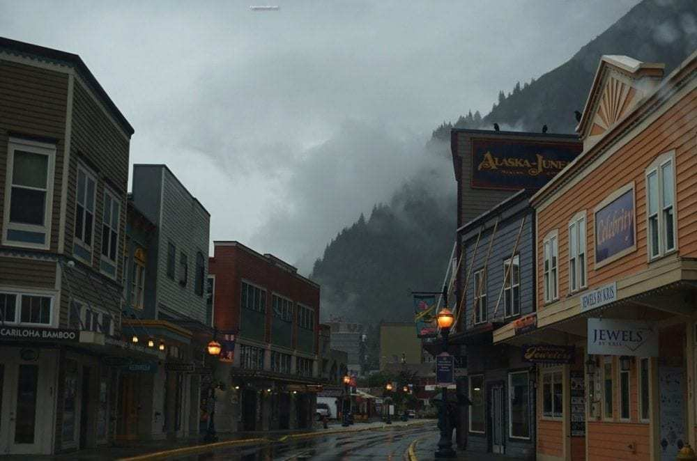 Photo of the day ~ Juneau echoing the old Gold Rush days in Alaska