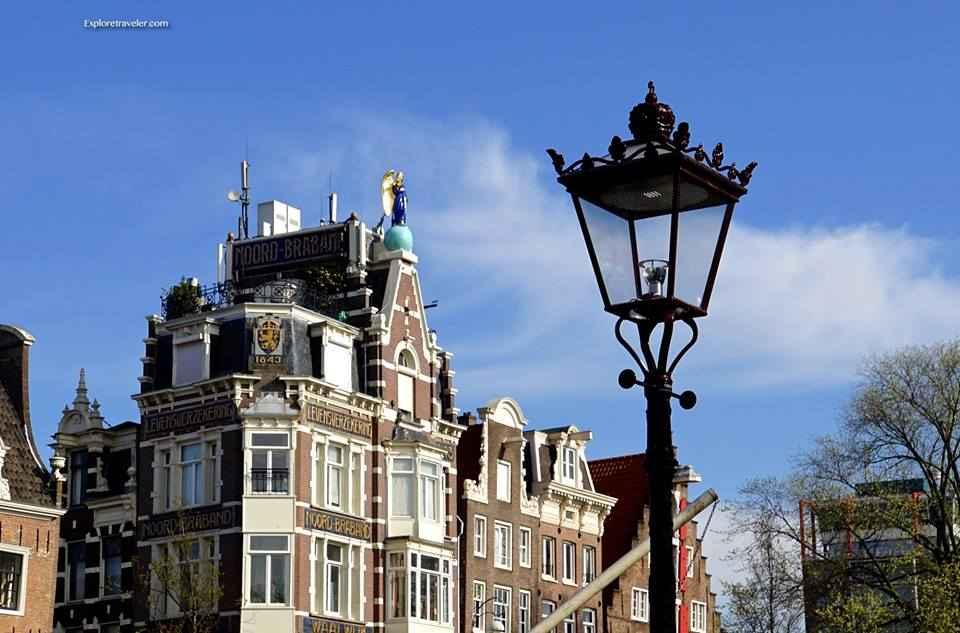 Levensverzekering Noord-Braband Waalwijk In Haarlemmerstraat Amsterdam