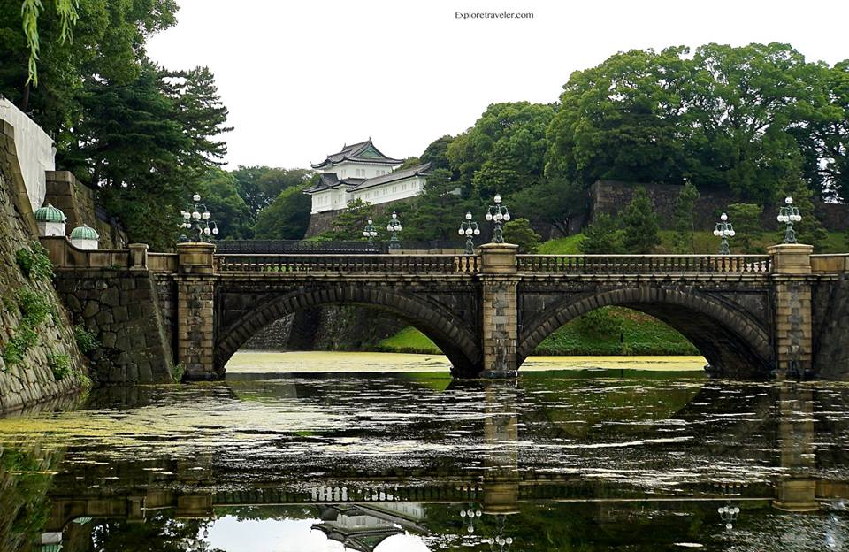 imperial palace tokyo japan