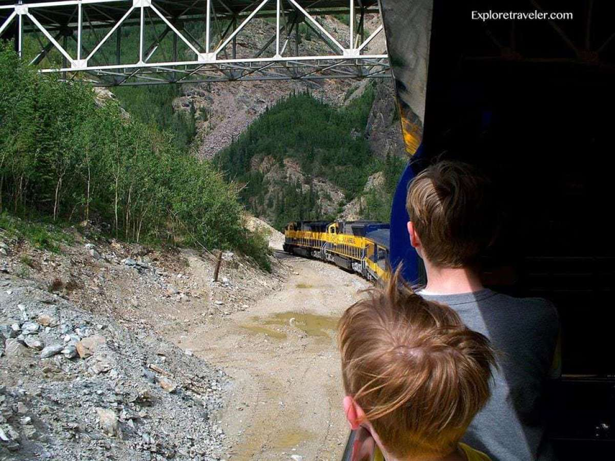 Alaska Railroad train travel Denali Star
