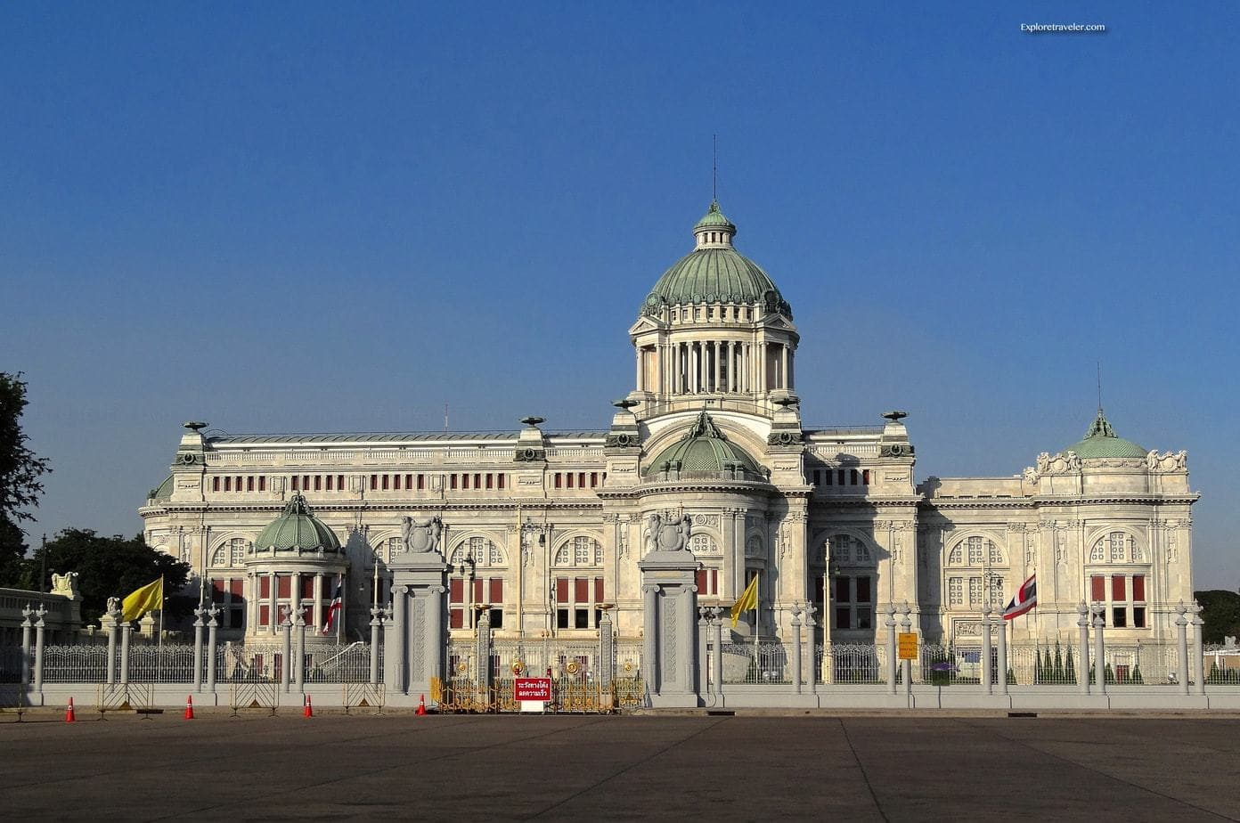 The Ananta Samakhom Throne Hall in Bangkok, Thailand