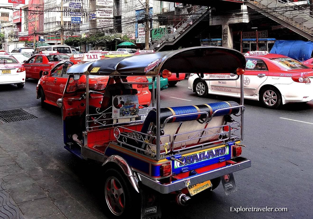 Bangkok Thailand Travel Guide Tuk Tuk