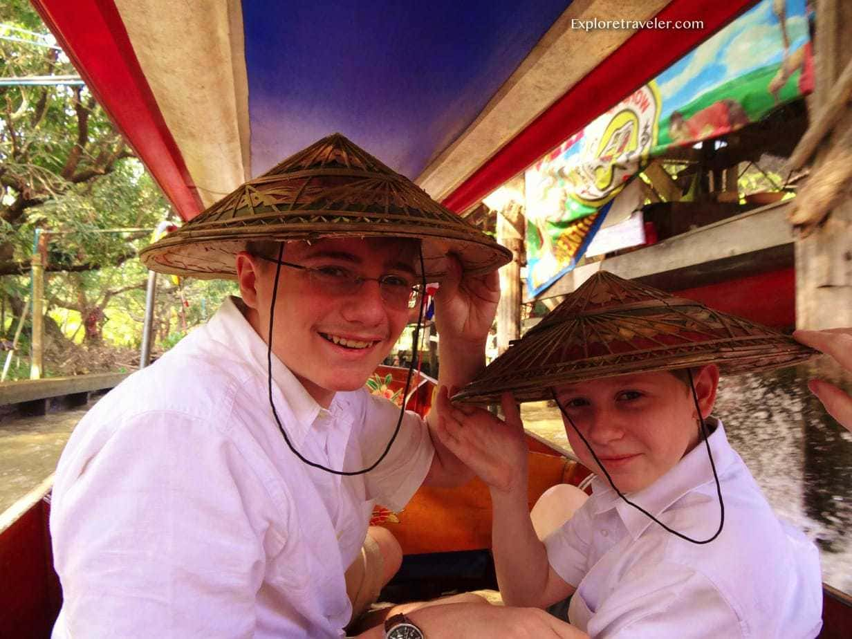 Bangkok Thailand Boat Adventures for all ages