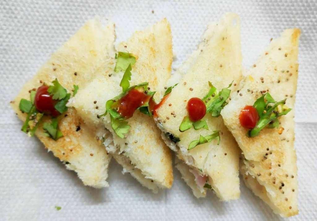 Bread Dhoklas