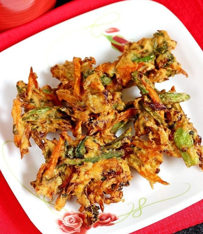 Indian Pakora bhaji