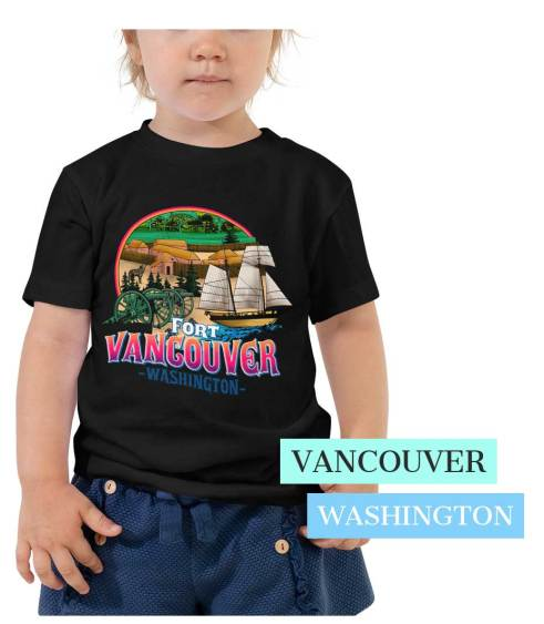 Toddler Fort Vancouver T Shirt
